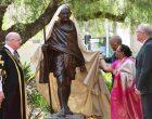 President Ram Nath Kovind unveiling of Statue of Mahatma Gandhiji at Jubilee Park, Sydney, Australia