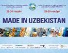 TASHKENT TO HOST MADE IN UZBEKISTAN EXHIBITION