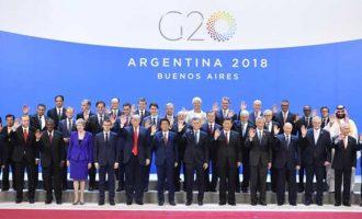 Argentine president opens G-20 Summit