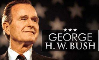 Ex-US President George H.W. Bush dead