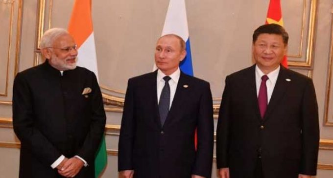 Xi, Putin, Modi agree to increase trilateral cooperation