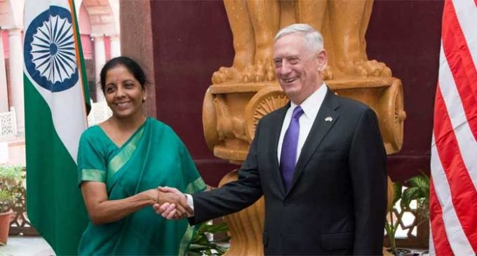 US, Indian defence ministers reaffirm strong security ties