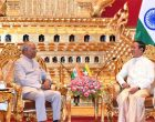 President, Ram Nath Kovind meeting the President of Myanmar, U. Win Myint