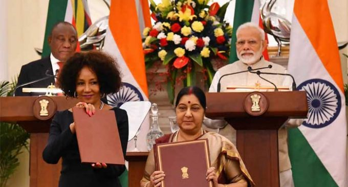 India, South Africa to further deepen strategic partnership