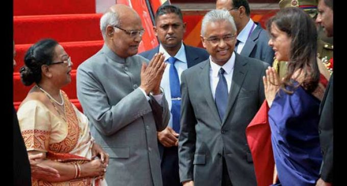 On R-Day, unprecedented gesture by India for Mauritius PM