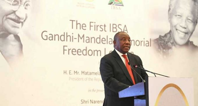 Separated by ocean, bound by history: South African President on ties with India