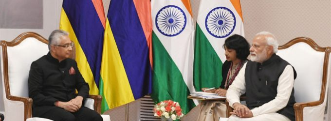 India, Mauritius review ties, cooperation in Blue Economy