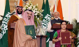 India, Saudi Arabia agree on need to exert pressure on countries backing terror