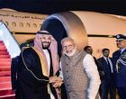 Saudi Crown Prince arrives in India, Modi receives him