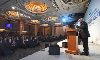 Prime Minister's speech at 'India-ROK Business Symposium' during his visit to Republic of Korea