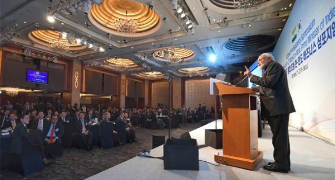 PM Modi invites more South Korean investment in India