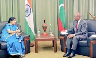 India, Maldives vow to combat terror, support each other