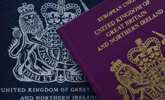 Brexit: UK issues new passports without EU on cover
