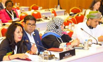 INDIAN PARLIAMENTARY DELEGATION ATTENDS 140TH ASSEMBLY OF IPU IN DOHA, QATAR