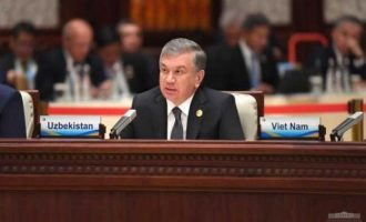 Shavkat Mirziyoyev: Our peoples must in reality feel the effects of our joint efforts