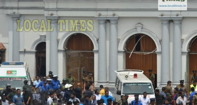 Sri Lanka mayhem on Easter Sunday kills 192