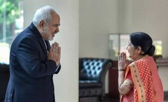 Iran Foreign Minister meets Sushma, decision on oil after polls