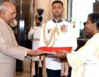 The Ambassador-designate of the Federal Democratic Republic of Ethiopia, Dr. Tizita Mulugeta presenting her credential to the President, Ram Nath Kovind