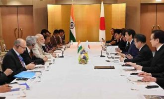 Modi meets Abe ahead of G20 Summit