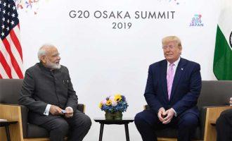 Modi conveys India's concerns over Iran issue to Trump
