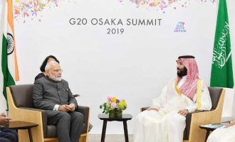 PM meets Saudi Prince, discuss ways to deepen cooperation