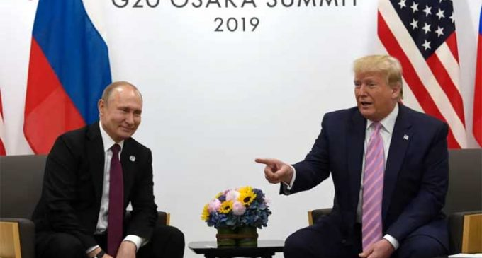 G20: Trump tells Putin not to meddle in 2020 polls