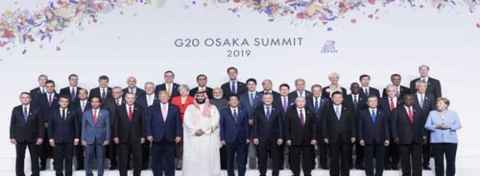G20 summit ends with declaration of support for free trade principles