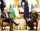 Australian PM praises Modi in a Hindi tweet