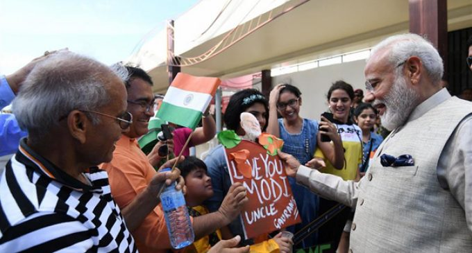 Indian democracy strengthened by poll verdict : PM Modi
