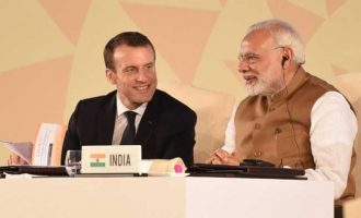 Modi in France: Macron speaks against 'third party' interference in Kashmir