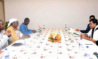 RK Singh holds bilateral meetings with Energy Ministers of Niger, Togo and Tonga; discusses cooperation in the field of Energy