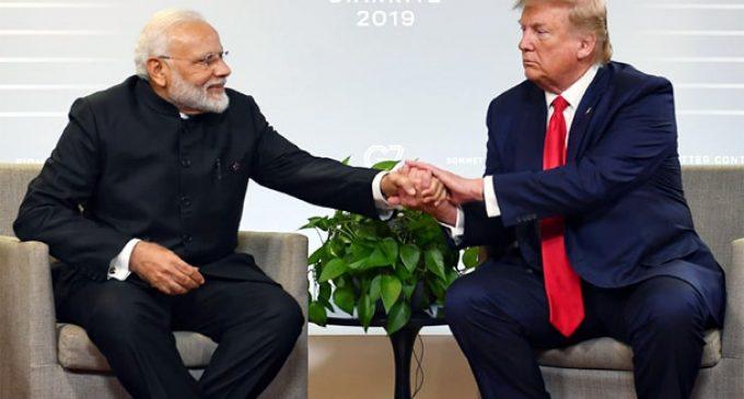 PM Modi says Kashmir under control : Trump