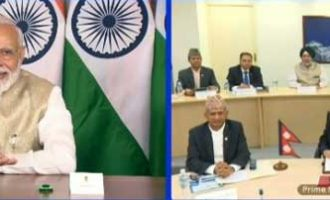 Modi, Oli jointly inaugurate petroleum products pipeline