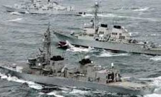 India, US, Japan begin trilateral maritime exercise