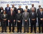 Modi meets Caribbean Community Leaders