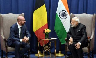Modi meets Belgian counterpart at UNGA
