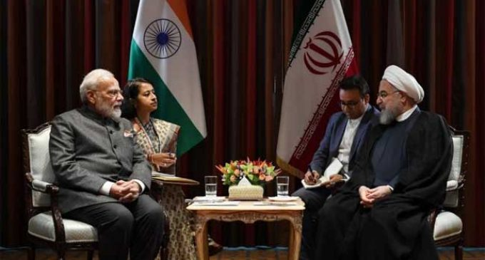 Modi, Rouhani discuss Chabahar port at UNGA