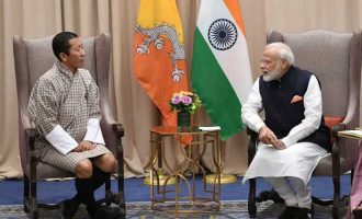 A growing relationship: Modi meets Bhutan PM