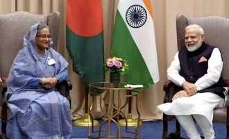 Modi, Hasina review 'excellent' bilateral ties at UNGA