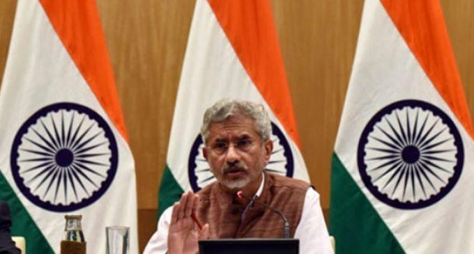 Elimination of terror precondition for SAARC: Jaishankar