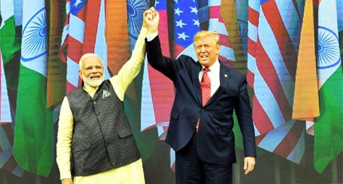 Trump-Modi roadshow named 'Unity in Diversity'