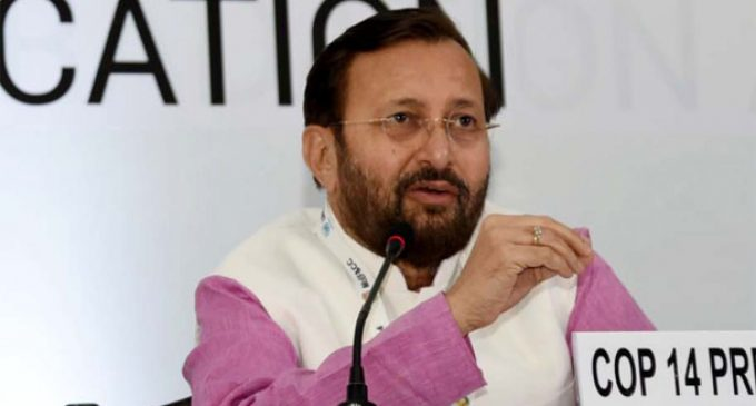 India committed to restore more degraded land : Javadekar