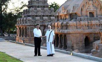 Modi turns tourist guide, takes Xi around Mahabalipuram