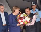 German Chancellor reaches India for intergovernmental talks