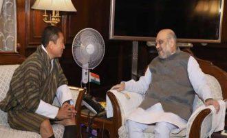 Bhutanese FM meets Shah, Jaishankar