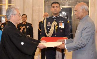 ENVOYS OF TWO NATIONS PRESENT CREDENTIALS TO PRESIDENT OF INDIA