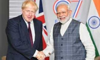 Modi congratulates UK's Johnson for election victory