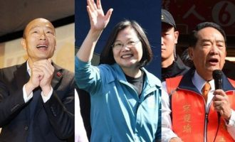 Main candidates vote in decisive Taiwan elections