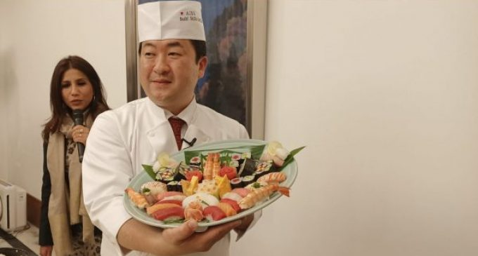 "Japanese Embassy in India organises ""An Evening with Japanese Food 2020"" to promote Japanese food in India"