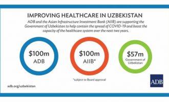 ADB approves $100 million loan to strength Uzbekistan's resilience to health emergencies